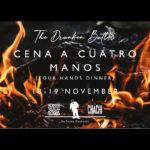 Cena a Cuatro Manos, pop-up en La Chachi